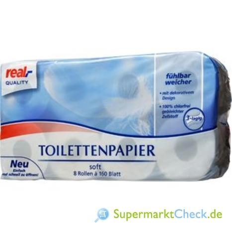 Foto von real Quality Toilettenpapier