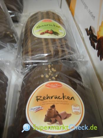 Foto von Kuchen Kaiser / Aldi Süd Rehrücken Rührkuchen