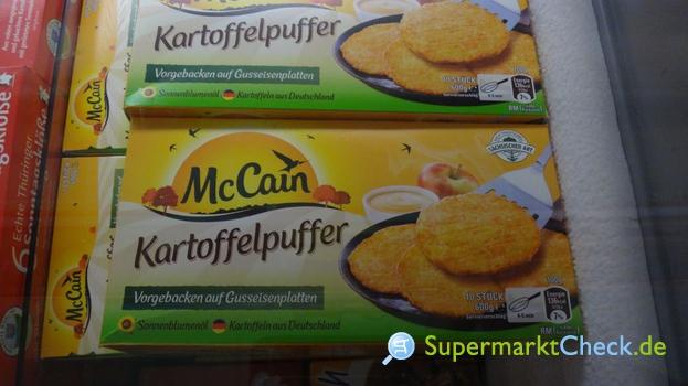 Foto von McCain Kartoffelpuffer