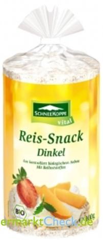 Foto von Schneekoppe Reis-Snack