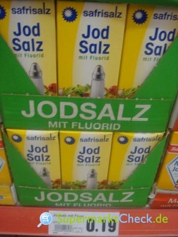 Foto von Safrisalz / Netto Marken Discount Jodsalz