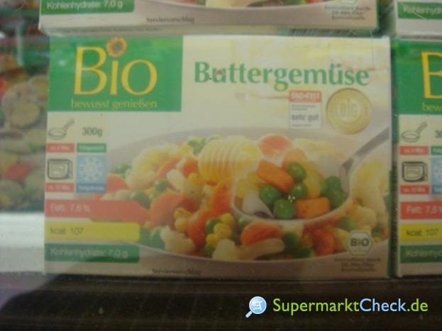 Foto von Bio Buttergemüse