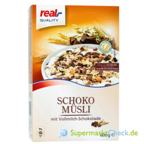 Foto von real Quality Schokomüsli