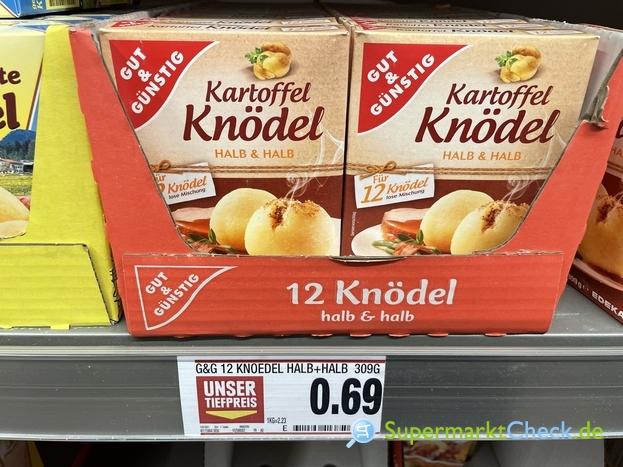 Foto von Gut & Günstig Kartoffel Knödel 12er