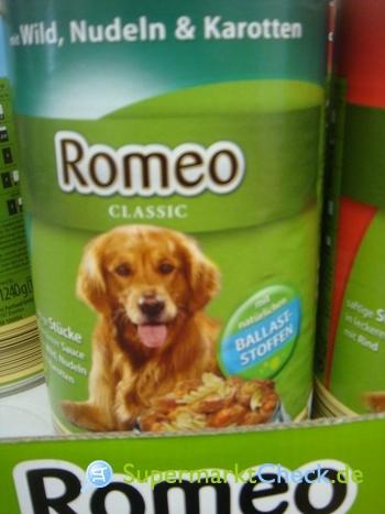Foto von Romeo Classic / Aldi Süd  Hundenahrung