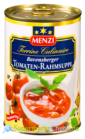 Foto von Menzi Terrine Culinaire Ravensberger Tomaten-Rahmsuppe