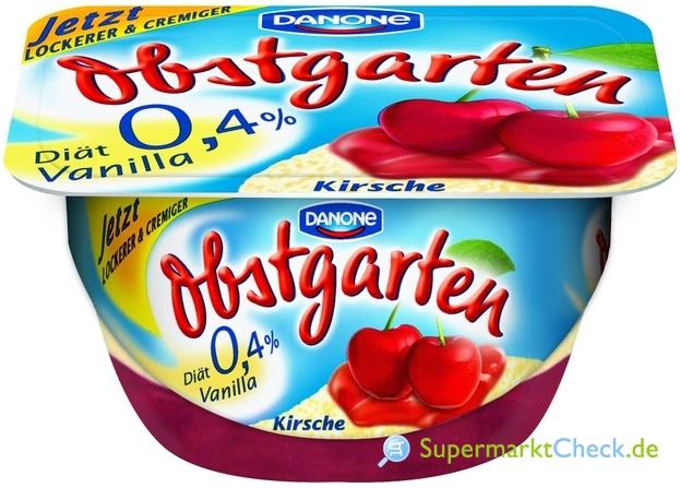 Foto von Danone Obstgarten Vanilla Diät
