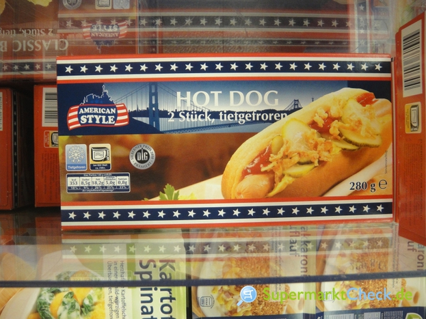 Foto von American Style Hot Dog