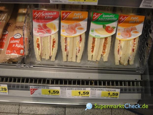 Foto von gut & günstig Sandwich