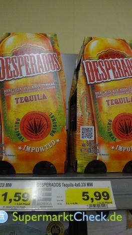 Foto von Desperados Original Tequila-Bier