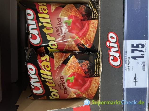 Foto von Chio Tortillas Chips