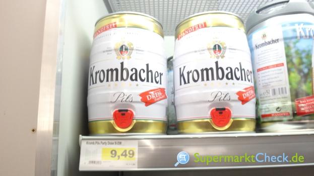 Foto von Krombacher Pils