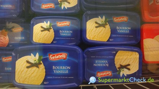 Foto von Gelatelli Bourbon Vanille Premium Eiskrem