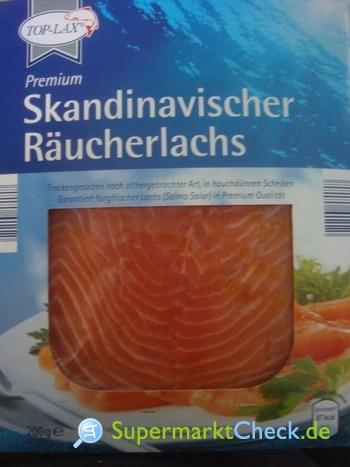 Foto von Top Lax / Aldi Süd Skandinavischer Räucherlachs