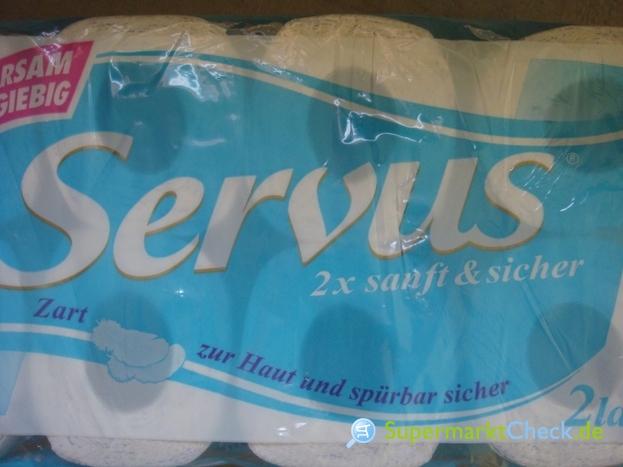 Foto von Servus Toilettenpapier 2 x sanft & sicher