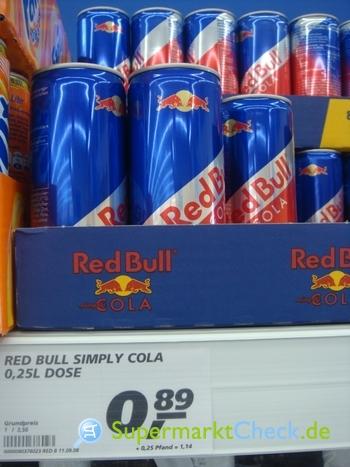 Foto von Red Bull Simply Cola