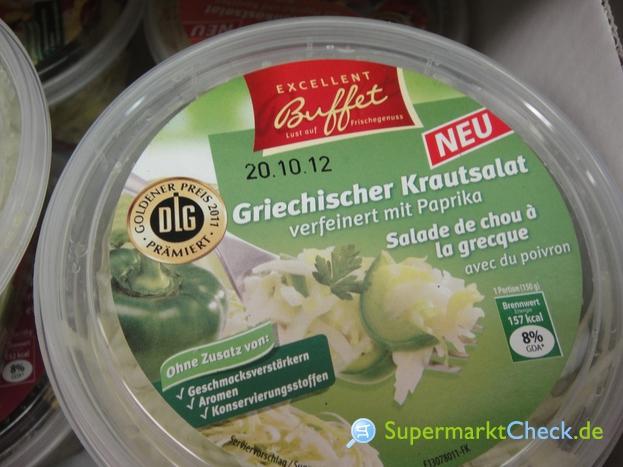 Foto von Excellent Buffet Griechischer Krautsalat