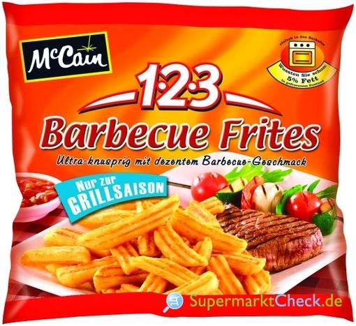 Foto von McCain 1-2-3 Barbecue Frites