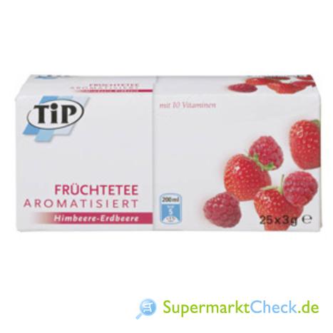 Foto von TIP Früchtetee aromatisiert