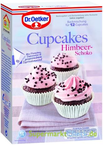 Foto von Dr. Oetker Cupcakes Backmischungen