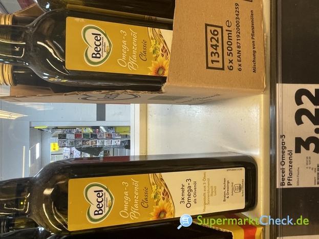 Foto von Becel Omega 3 Pflanzenöl