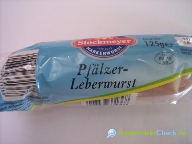 Foto von Stockmeyer Pfälzer Leberwurst