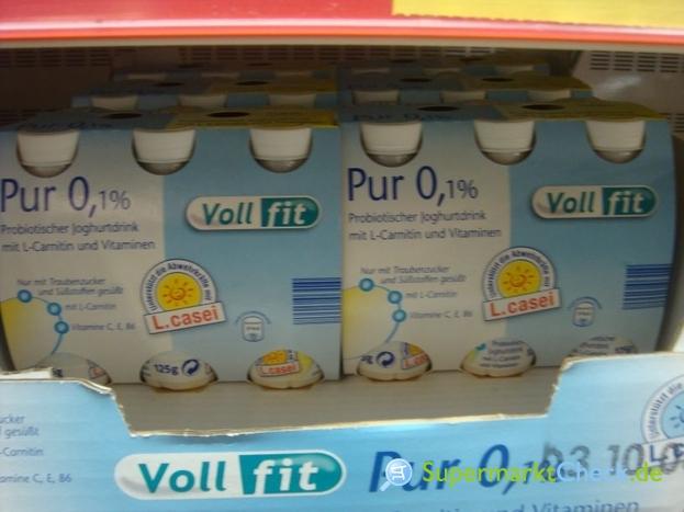 Foto von Voll fit Probiotischer Joghurtdrink