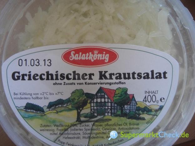 Foto von Salatkönig Griechischer Krautsalat