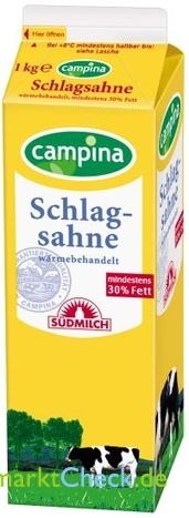 Foto von Südmilch Schlagsahne