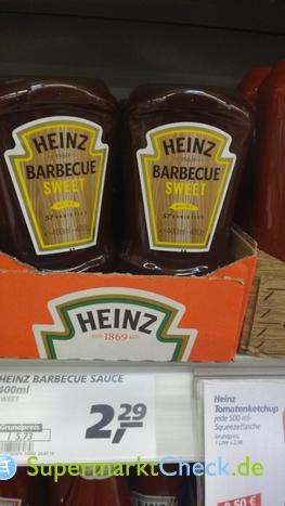 Foto von Heinz Barbecue Sweet Sauce