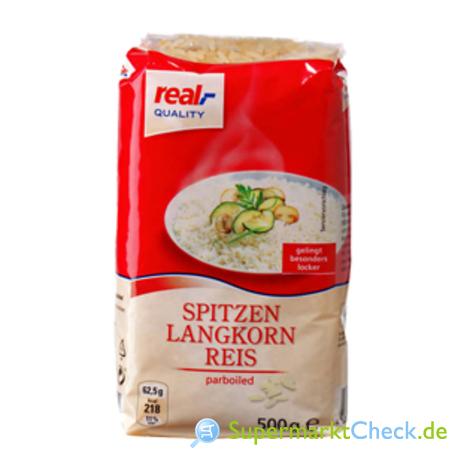 Foto von real Quality Spitzen Langkornreis