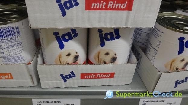 Foto von Ja! Hundevollnahrung