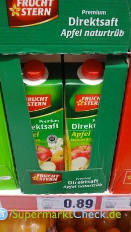 Foto von Frucht Stern /Netto Premium Apfel Direkt-Saft