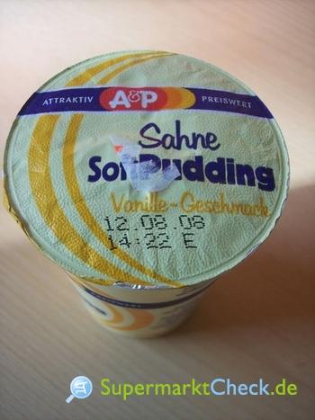 Foto von A&P Sahne Soft Pudding
