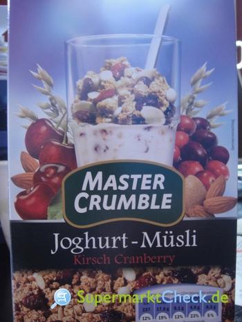 Foto von Master Crumble Joghurt Müsli