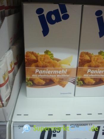 Foto von ja! Paniermehl