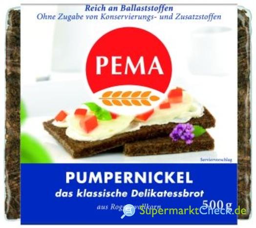 Foto von Pema Volkornbrot Pumpernickel
