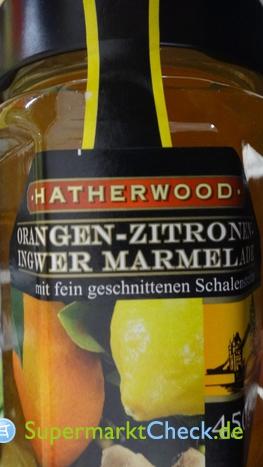 Foto von Hatherwood / Lidl Orangen Zitronen Ingwer Marmelade