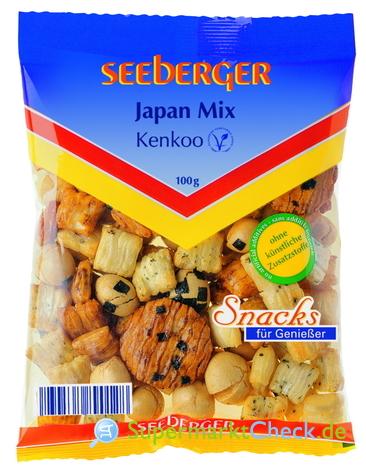 Foto von Seeberger Japan Mix