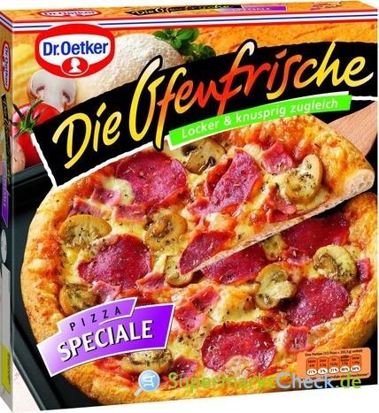 Foto von Dr. Oetker Die Ofenfrische Pizza