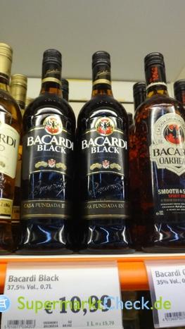 Foto von Bacardi Black Rum