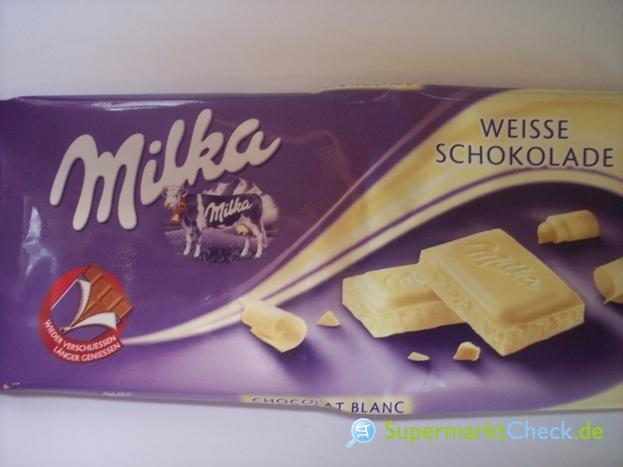 Foto von Milka Weisse Schokolade