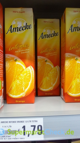 Foto von Amecke intense Orange